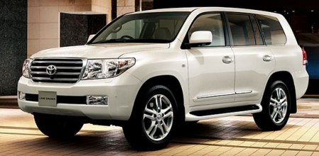 4.6-litre Toyota Land Cruiser