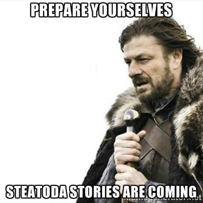 Prepare yourselves!