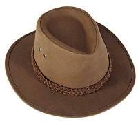 Waxed bushman hat