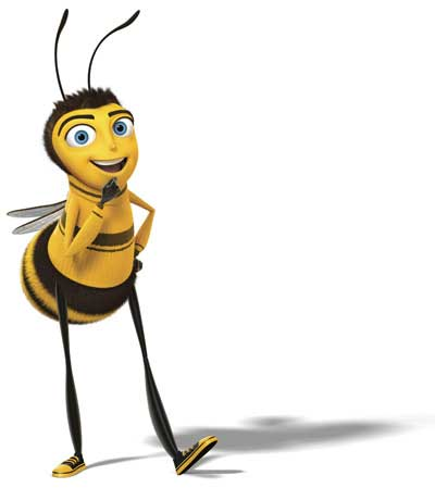 Publicity shot from Bee Movie © DreamWorks Distribution LLC