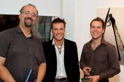 Matt Chatfield, Nick Baker and Ross Hoddinot at the BWPA