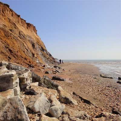 Soft cliffs, Compton chine