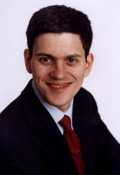 Environment Secretary, David Miliband © Crown Copyright 2007