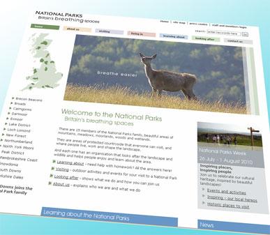 National Parks website