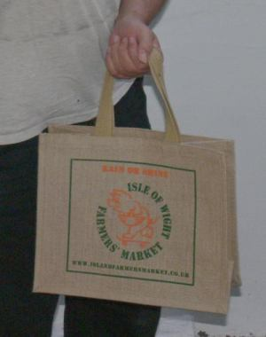 The Ranger's shopping bag from the Isle of Wight Farmer's Market