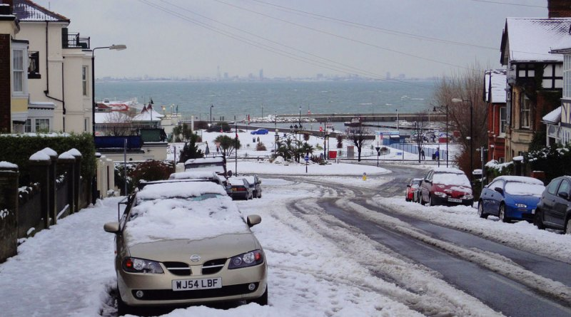Snow on Dover Street, 2010