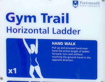Gym trail