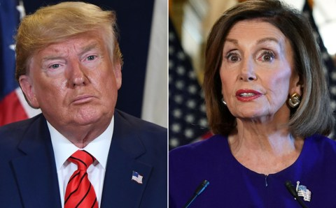 'I didn't know he was so sensitive' – Nancy Pelosi shrugs off Donald Trump after he said she had 'mental problems' for calling him morbidly obese