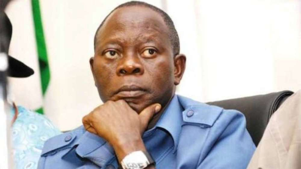 Oshiomhole finally reacts on the dissolution of APC's NWC