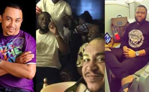 """Help us check if @DaddyFRZ was a partner to Hushpuppi, they use to dine together."" – Nigerians blasts Daddy Freeze for promoting Hushpuppi"