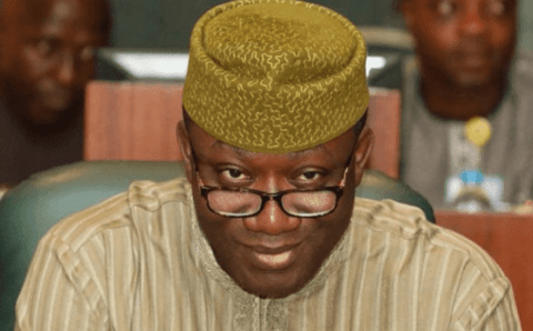 APC crisis: Fayemi reacts over report he was barred from seeing Buhari with Giadom