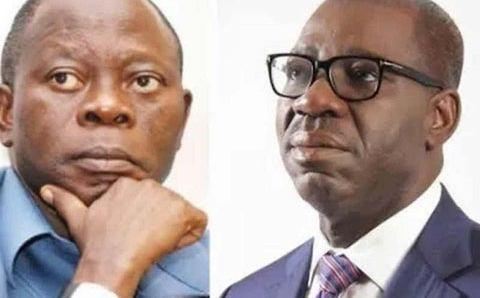 Obaseki slams Oshiomhole of being scared for educated people