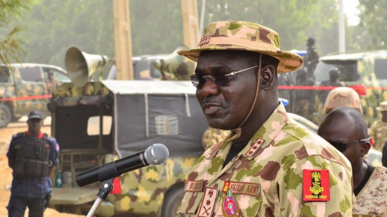Stay away from 'coup' plans – Buratai warns military generals