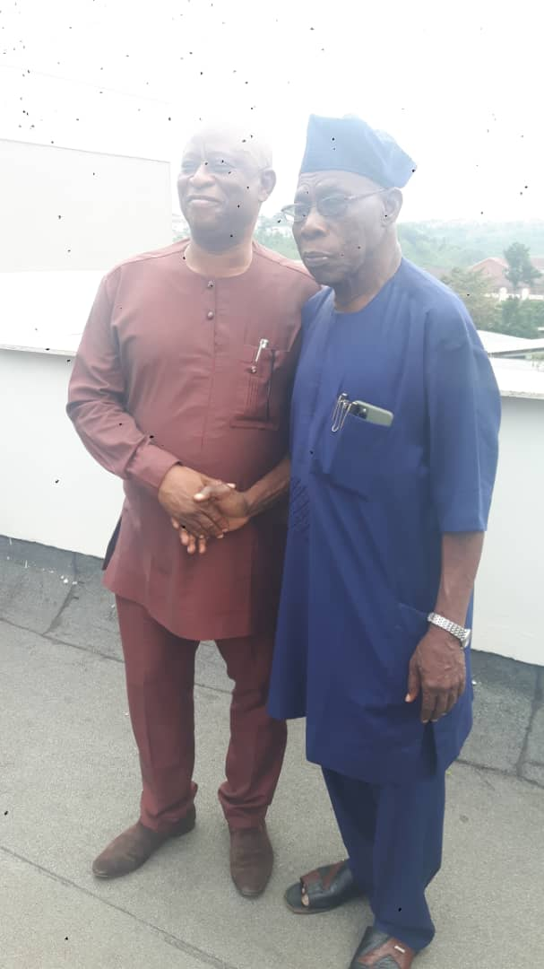 Delta 2023: Former Minister Of Education Consults Ex-Nigeria's President, Obasanjo Over His Governorship Ambition