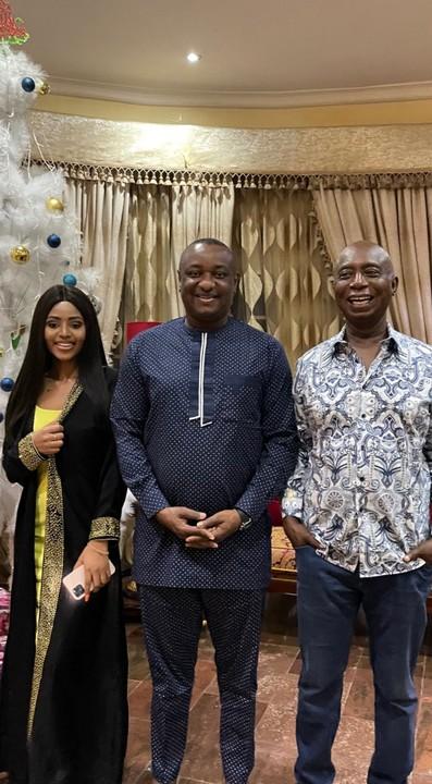 Ned Nwoko And Regina Daniels Host Festus Keyamo In Abuja Mansion