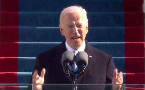 """Don't tell me things can't change,"" Biden says"