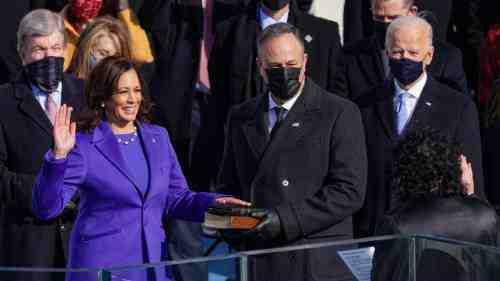 Kamala Harris' husband makes history in America