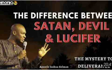 """Why Satan can enrich any man"": Apostle Joshua Selman makes powerful revelation about Satan"