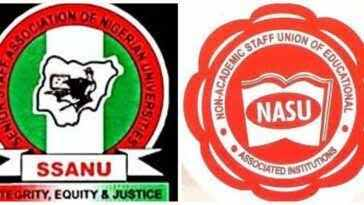 NASU and SSANU sets to begin nationwide protest in Nigeria