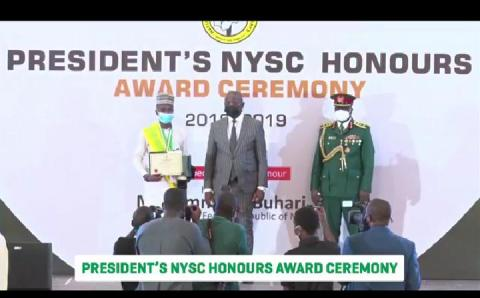 Fedpoly Offa Graduate Bags President Buhari's Award, Automatic Employment