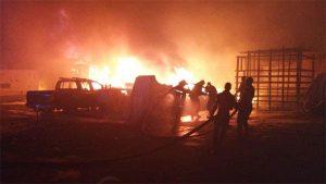 Fire Breaks Out In Aso Rock (Video)