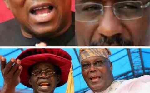 2023: How Tinubu And Atiku vs Obi and Sanusi Will Be The Perfect Match To Save Nigeria