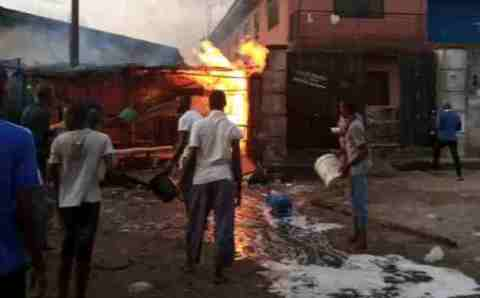 Gas Explosion Hits Lagos