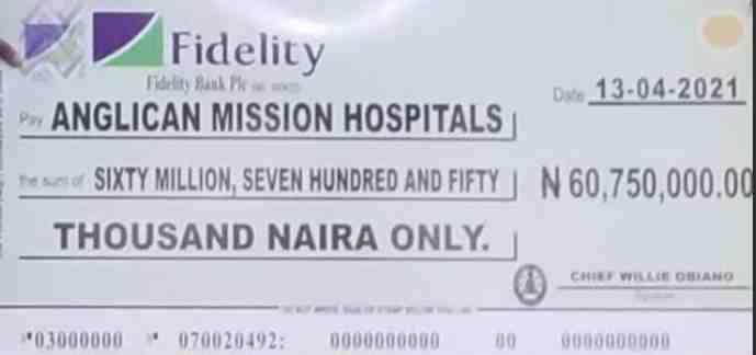 Anambra Government Gave Church Medical Money – Mazi Odera