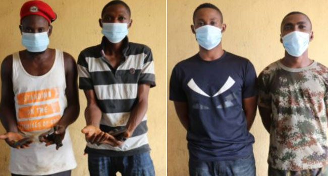 Police in the FCT apprehend suspected armed robbers and impersonators