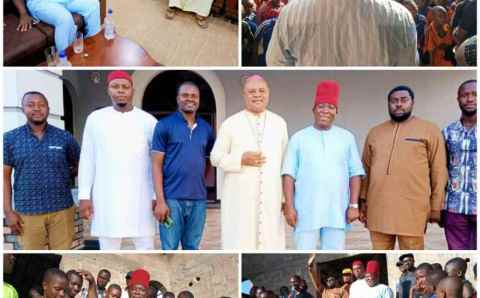"""Attack On Bubendorff: """"No One Can Fight The Church And Go Scot-free""""– Sen. Victor Umeh"""