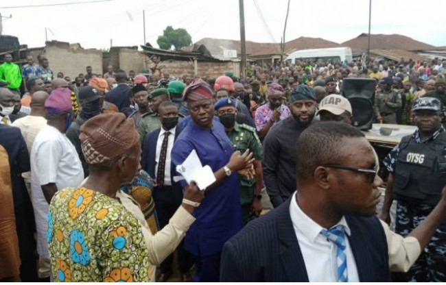 Igangan attack: Hold me accountable for losses- Makinde tells igangan residents