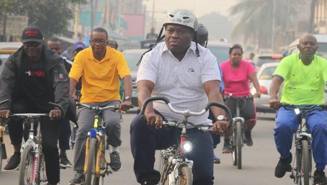 FRSC advises Nigerians to ride bicycles to avoid road accidents