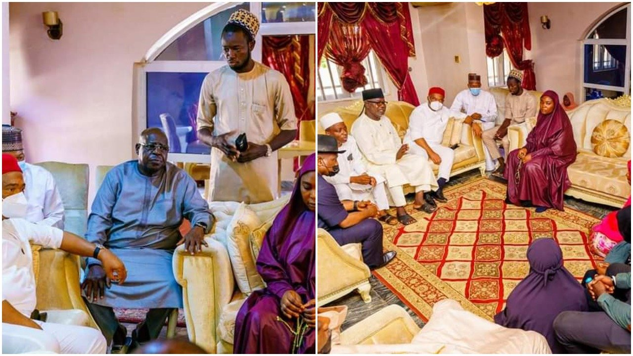 IMO STATE GOVERNOR PAY AHMED GULAK'S FAMILY A VISIT AFTER AHMED'S DEMISE