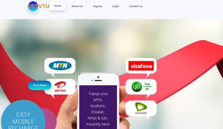 Virtual Top-Up (VTU) company