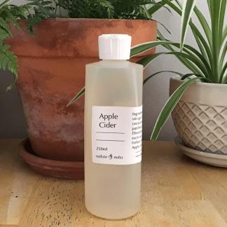 apple cider hair rinse