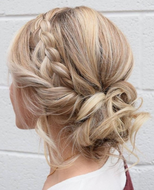 12 gorgeous bridesmaid updo hairstyles for weddings