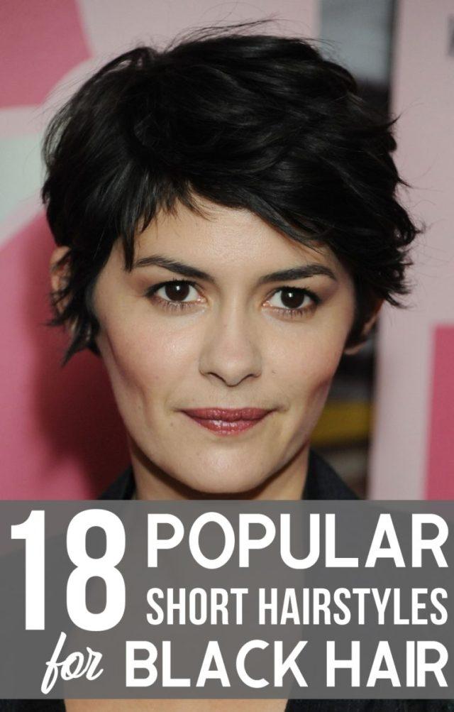 18 popular short hairstyles for black hair