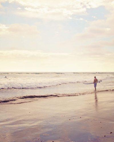san diego pacific beach at dusk