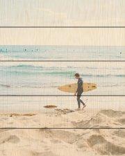 Wood pallet surfer