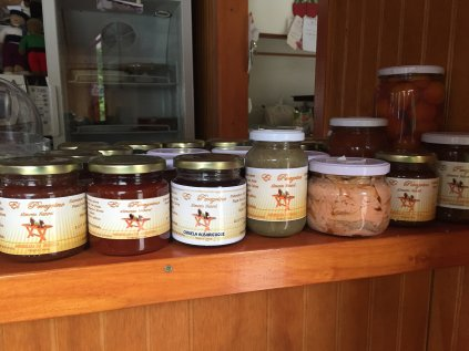 Selection of spreads and stuff available for purchase