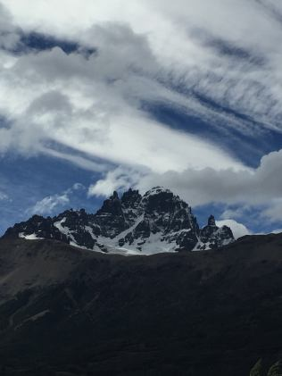View of Cerro Castillo as we approached it