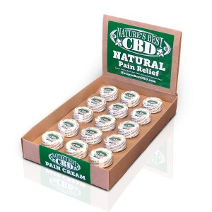 Picture of Nature's Best CBD 15 pack of Natural Pain Relief Cream