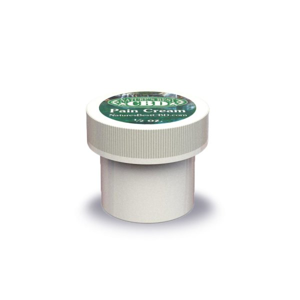 Nature's Best CBD Pain Cream, 1/2 oz. size