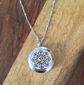 My gorgeous AromaLove aromatherapy locket