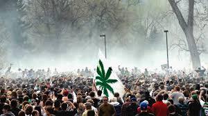 people smoking weed