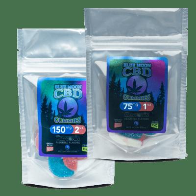 Blue Moon Hemp Melatonin + CBD Gummies