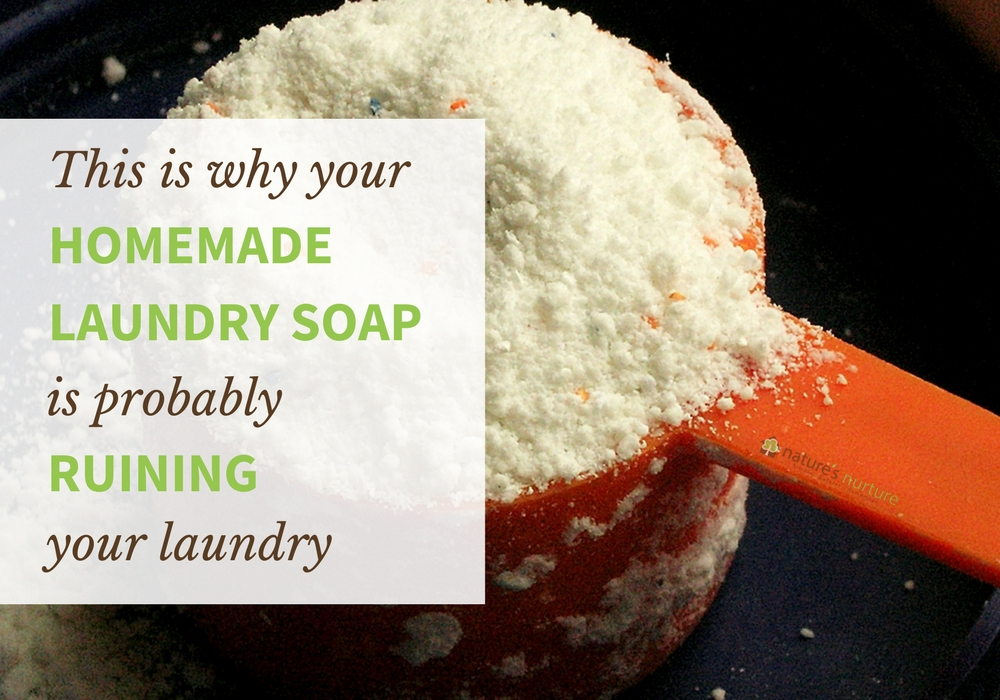 Your Homemade Laundry Soap Might Be Ruining Your Laundry