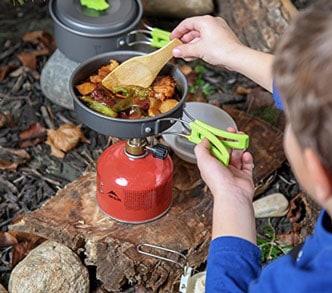 camping hot foods