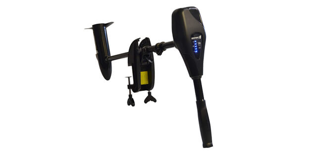 Newport Vessels NV-Series 36 lb. Thrust Saltwater Transom Mounted Electric Trolling Motor with 30 Shaft (features)
