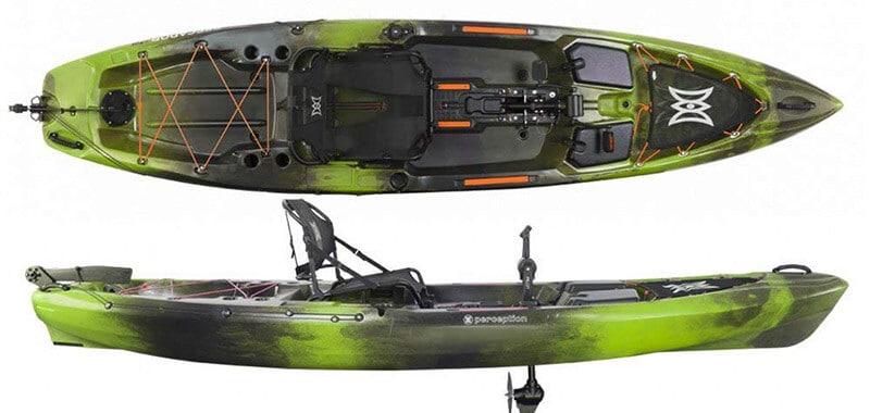 Perception Kayak Pescador Pilot Fishing